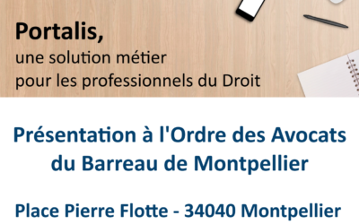 Présentation Portalis Barreau de Montpellier