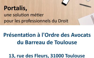 Présentation Portalis Barreau de Toulouse
